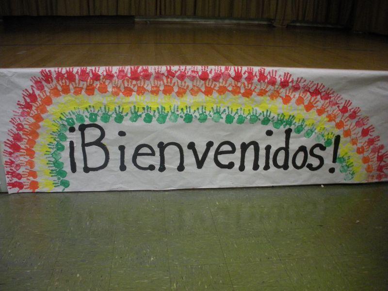 Spanish welcome.JPG